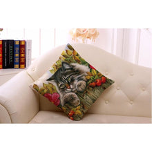Sleeping Kitties Pillow Covers Pillow Cover