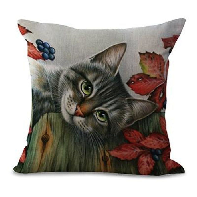 Sleeping Kitties Pillow Covers Luna Pillow Cover