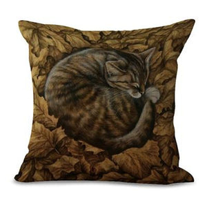 Sleeping Kitties Pillow Covers Oreo Pillow Cover