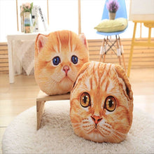 Sugar Face Kitty Pillow Fluffy Pillows