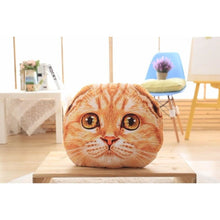 Sugar Face Kitty Pillow Heathcliff / 40Cm Fluffy Pillows