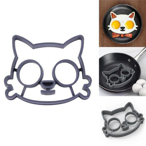 Sunny Side Up Kitty Egg Mold Cookware