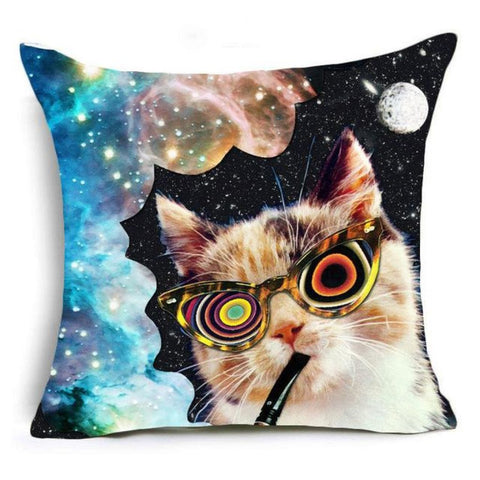 Super Meow Pillow Cover Loco Fluffy