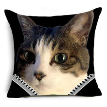 Super Meow Pillow Cover Lord Nermal Fluffy