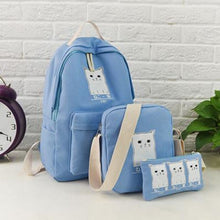 Trouble Combo Kitty Backpack Sky Blue Backpack
