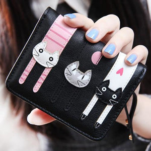 Yoga Kittens Wallet Black Wallet