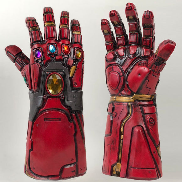Avengers Endgame Iron Man Infinity Gauntlet Cosplay Arm Thanos Latex Gloves Arms Superhero Masks Weapon Props New DropShipping