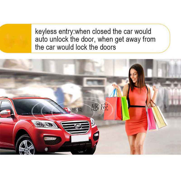 Android APP Remote Start For Car Keyless Entry ACC Car Alarm Alarm Auto Start Remote Control Control Locking One-Button MP900