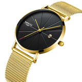 NIBOSI Watch Women And Men Watch Top Brand Luxury Famous Dress Fashion Watches Unisex Ultra Thin Wristwatch Relojes Para Hombre