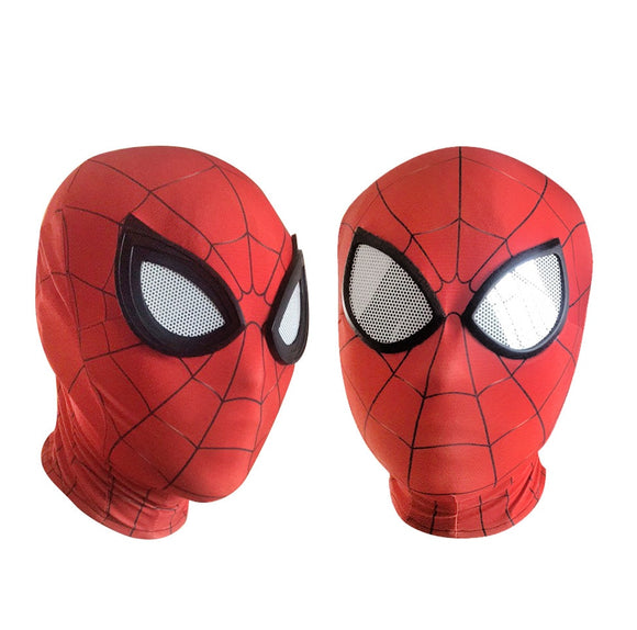 3D Spiderman Homecoming Masks Avengers Infinity War Iron Spider Man Cosplay Costumes Lycra Mask Superhero Lenses