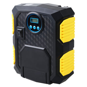Digital Tire Inflator 12V Digital Car Tyre Inflator Electric Air Compressor Automatic Portable Pump