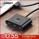 Ugreen USB HUB 3.0 External 4 Port USB Splitter with Micro USB Power Port for iMac Computer Laptop Accessories HUB USB 3.0