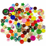 20PCS wooden buttons for clothing botones acessorios para costura for crafts scrapbooking accessories crafts and scrapbooking