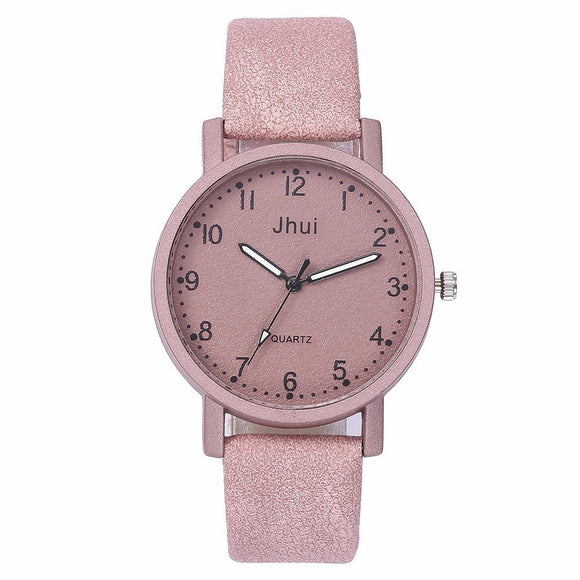 2019 Best Selling Fashion Women Leather Watch Casual Luxury Ladies Quartz Watch Gift Clock Relogio Feminino Drop Shipping