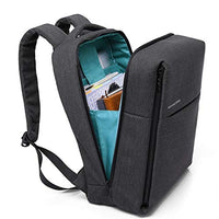 MUFUBU Presents Water Resistant Business Laptop Backpack for Both Male and Female by Kaka - Black