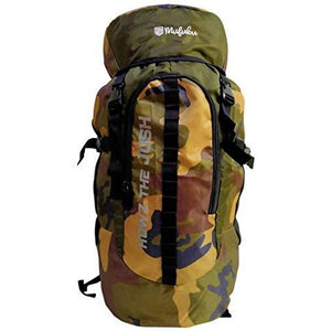 Camouflage 45 Ltr  Army Green Rucksack Bag