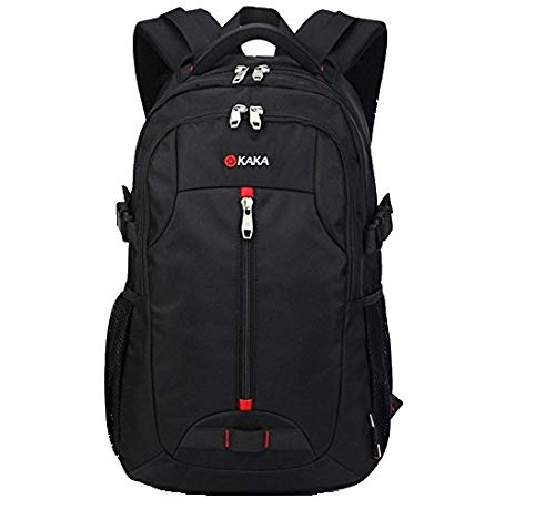 MUFUBU Presents Waterproof Adventure Hiking Backpack Fit for 15.6 Laptop by Kaka - Black