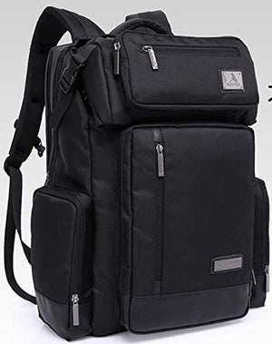 Kaka Multifunctional Travel Backpack with Detachable Waist Bag - Color Black