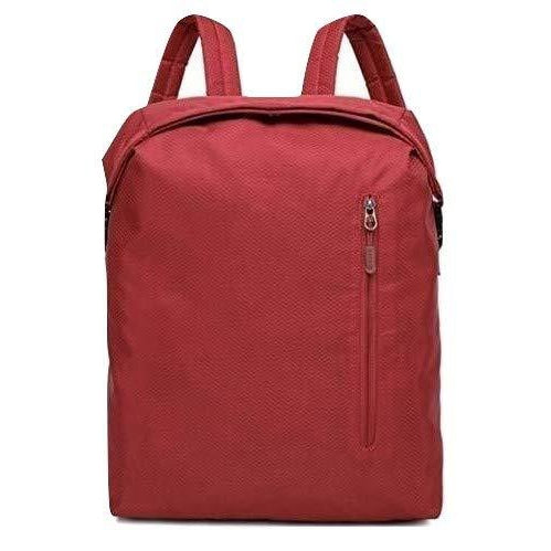 MUFUBU Kaka Oxford Fabric 20 L Red Water Resistant Casual Travel Backpack