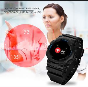 Hangoverr Power X Series Smart Sports Watch - Black