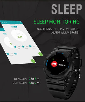 Hangoverr Power X Series Smart Sports Watch - Red