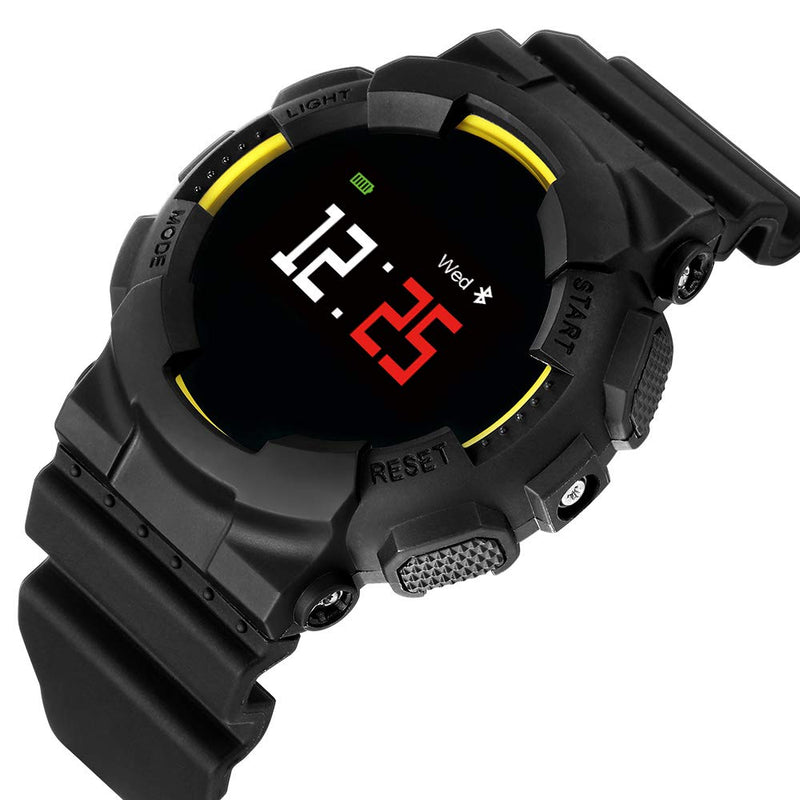 Hangoverr Power X Series Smart Sports Watch - Yellow