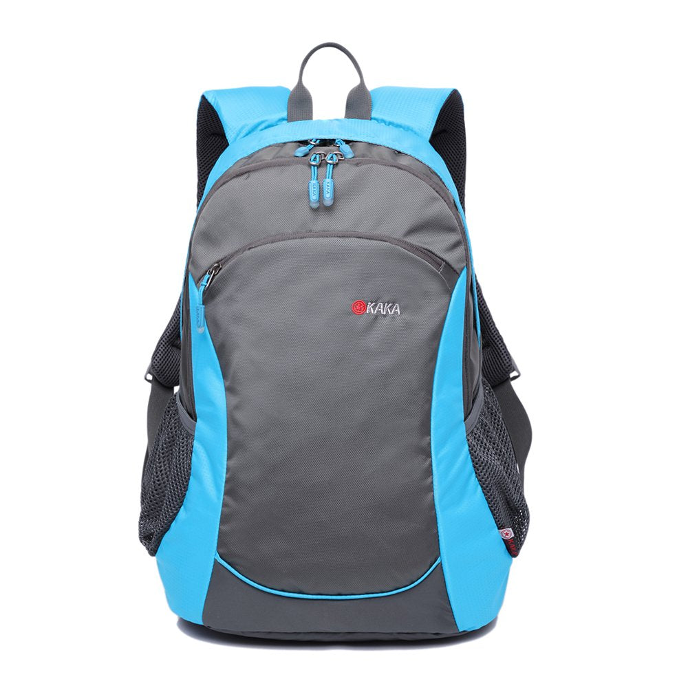 MUFUBU Nylon Blue School Backpack