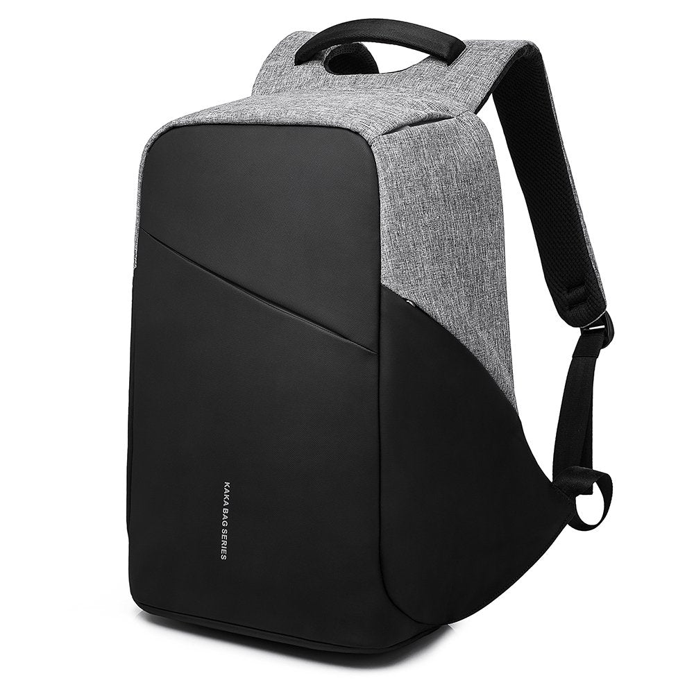 MUFUBU Kaka Smart Anti Theft Backpack with USB Charging (Grey)