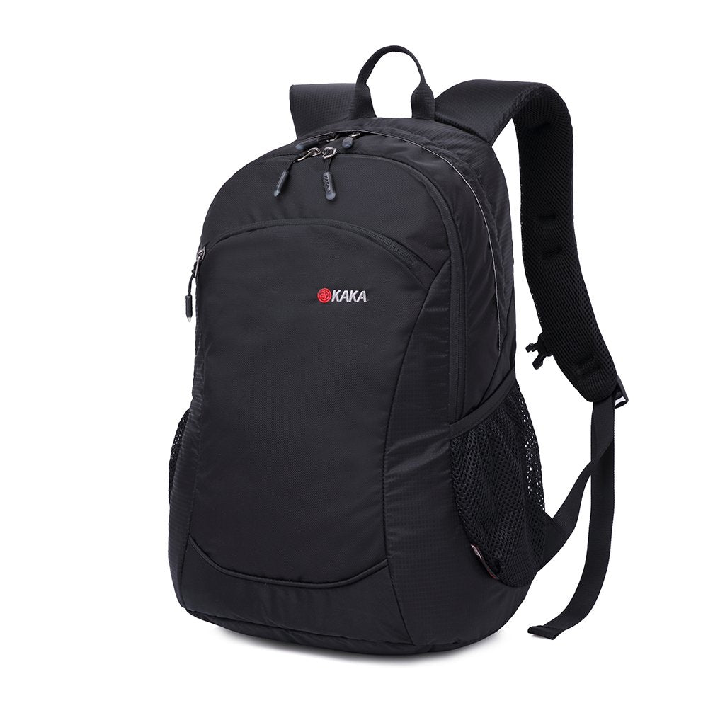 MUFUBU Waterproof Nylon Black School Backpack