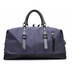 MUFUBU Oxford Fabric Travel Duffel Luggage Bag by Kaka (Blue)