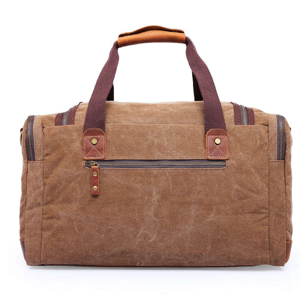 Mufubu Presents Kaka Canvas Luggage Bag - Khaki