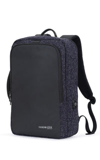 Hangoverr Laptop Bags for Men with USB Port and Security Pocket (Blue)