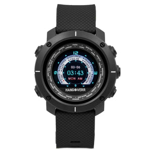 Hangoverr Power Activate Digital Black Dial Men's Smartwatch