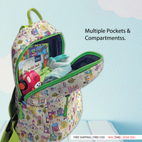 Gini' N' Poko  Kids Backpack- Sweet Dreams