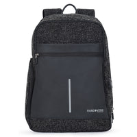 Hangoverr Laptop Backpacks with USB Port and Anti Theft Pocket (Black)