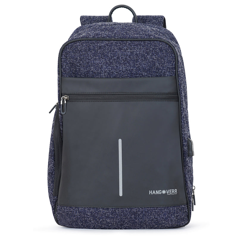 Hangoverr  bags with USB port - Blue
