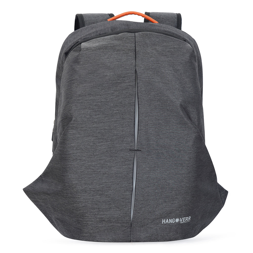 Hangoverr Anti Theft Laptop Bags with USB Port - Grey