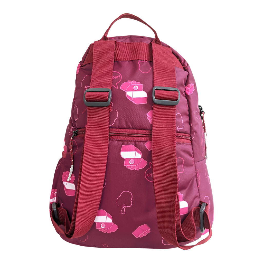 Gini' N' Poko Kids Backpack- Pink Blossoms