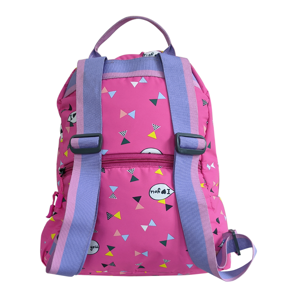 Gini' N' Poko Kids  Backpack- Heart & Kites