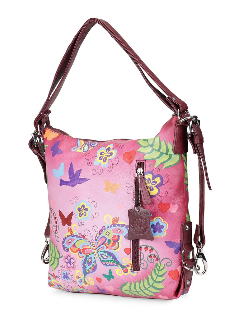 Sling Bag -Summer Wings Cherry Red