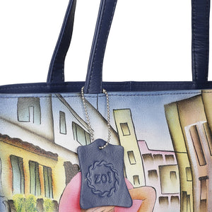 Hand Bag - Venice Italy Navy Blue