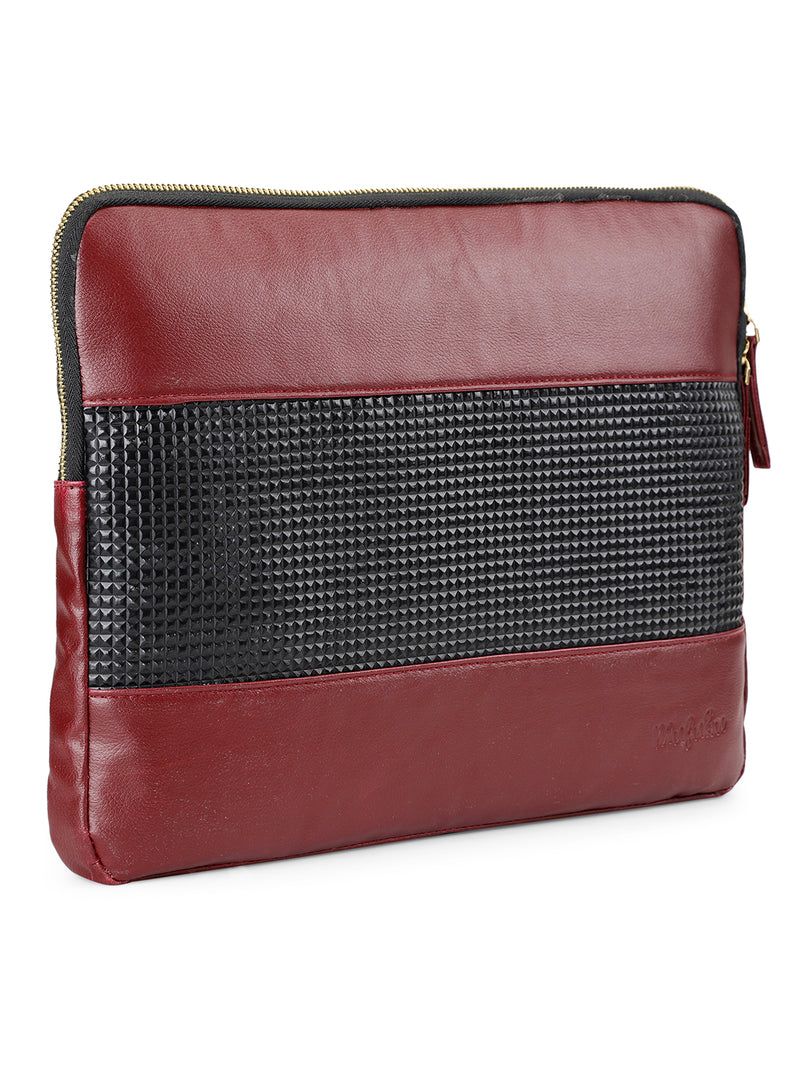 Maestro 13 inch Laptop Sleeve - Ruby Red