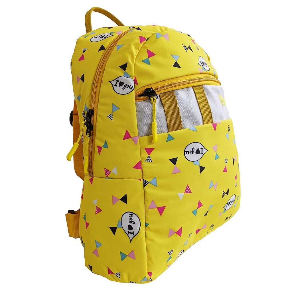 Gini' N' Poko Kids  Backpack-Saffron Kites