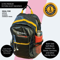 Victoria Scott 40 Ltr Black Backpack