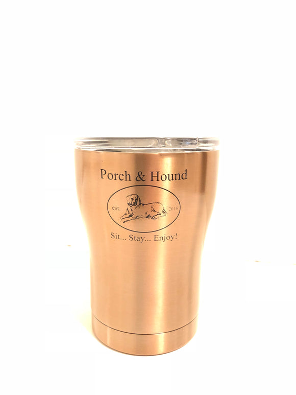 Porch & Hound copper tumbler