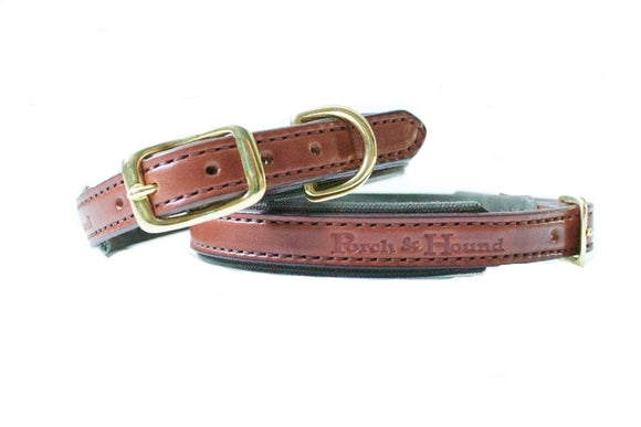 Dog Collar - Oak Bark and Pine