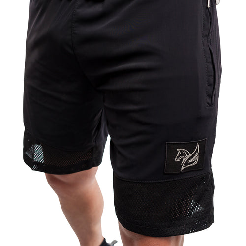 TRAINING SHORTS BLACK