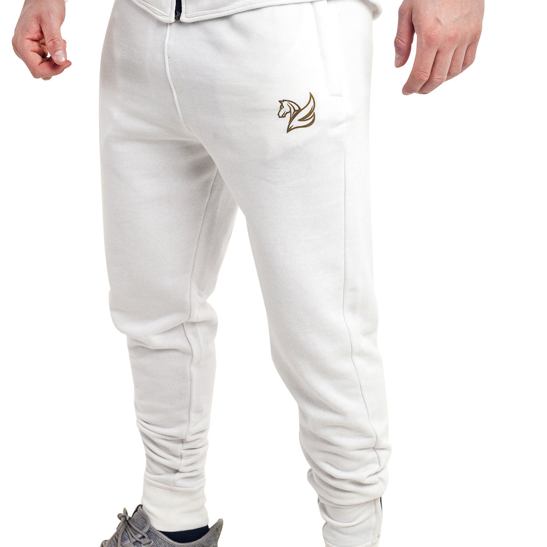 CONQUER JOGGERS ARCTIC WHITE | Bottoms and Joggers | Pegasus Athletic