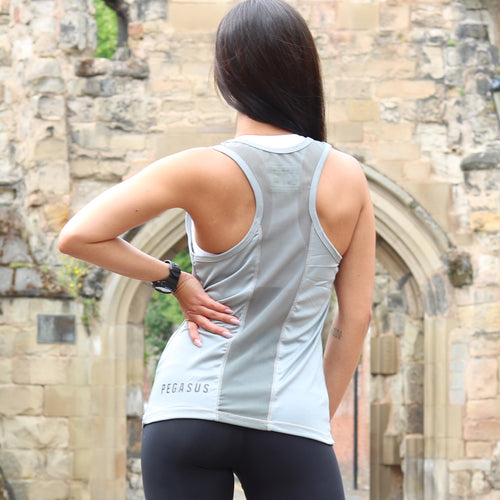 Pegasus Flow Vest Grey | Womens Vest | Pegasus Athletic