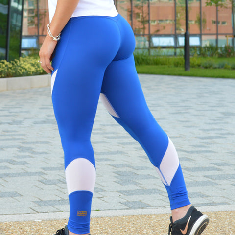 ENERGY LEGGINGS BLUE
